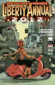 CBLDF Presents, The: Liberty Comics Annual #2012B VF/NM; Image   save on shippin