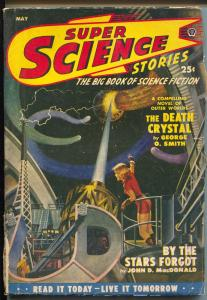 Super Science Stories 5/1950-Popular-CanadianJohn D MacDonald-Simak-VG