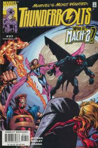 Thunderbolts #37 VF/NM; Marvel | save on shipping - details inside