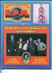 Record Profile Magazine #9 1985-Janis Joplin-Ramones-Youngbloods-Ventures-FN