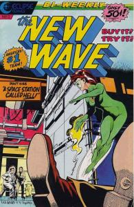 New Wave, The #3 VF/NM; Eclipse | save on shipping - details inside