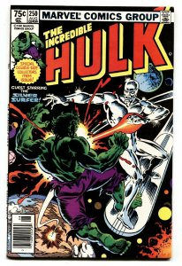 Incredible Hulk #250-1980-Silver Surfer- 1st Collective Man comic book