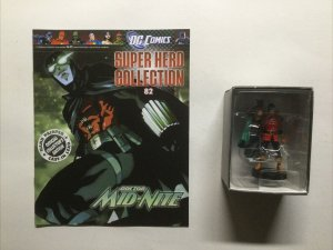 Doctor Mid-Nite 82 Super Hero Collection Lead Figure and Magazine Dc Eaglemoss