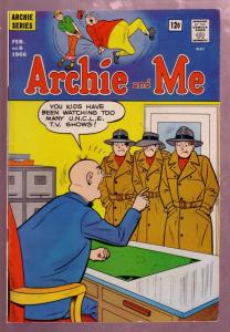 ARCHIE AND ME #6 1966-BETTY & VERONICA-REGGIE-UNCLE TV FN