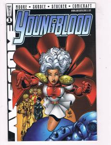 Youngblood #1L NM Awesome Comics Variant Comic Book Moore Feb 1998 DE43 TW14