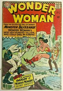 WONDER WOMAN#162 GD/VG 1966 DC SILVER AGE COMICS