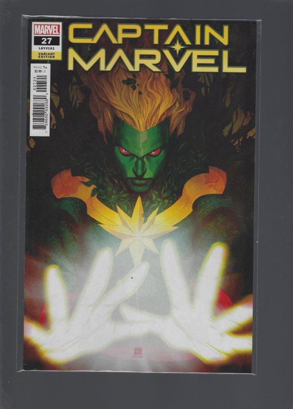 Captain Marvel #27  Variant