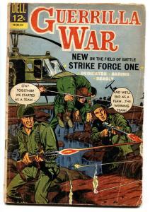 GUERRILLA WAR #13 comic book 1966   VIETNAM  VIOLENCE G
