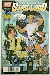 LEGENDARY STAR-LORD#1 NM 2014 MIDTOWN VARIANT MARVEL COMICS