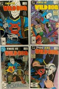 This is wild dog set:#1-4 8.0 VF (1987)