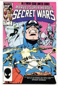 MARVEL SUPER HEROES SECRET WARS #7 1st Julia Carpenter Spider-Woman
