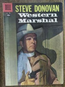 FOUR COLOR COMICS (Dell, 2/1957) #768 VG+ Steve Donovan Western Marshal Photo cr