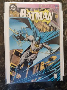 Batman #500 Special Edition Die-Cut Cover. Knightfall 19 DC (93) NM or Better