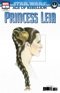 Star Wars AOR Princess Leia #1 Concept Variant (Marvel, 2019) NM