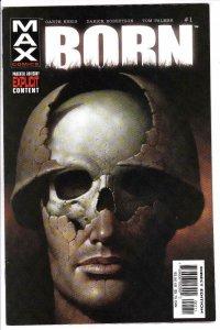 BORN #1, NM, Garth Ennis, Punisher, Max Comics, 2003, Vietnam War, more in store