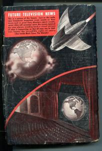 Amazing Stories Quarterly Pulp Winter 1941-BURROUGHS-JOHN CARTER-good