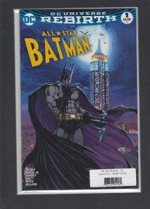 All Star Batman #1 Turner Exclusive
