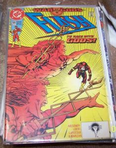 FLASH # 55 HOT cw tv show  WAR OF THE GODS  HERMES VS WALLY WEST