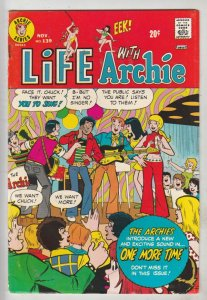 Life with Archie #139 (Nov-73) FN/VF Mid-High-Grade Archie