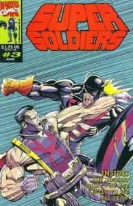 Super Soldiers #3, NM + (Stock photo)