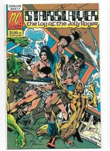Starslayer #2 VF/NM Key Issue 1st App. Rocketeer Pacific Comics Dave Stevens