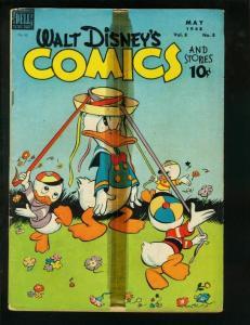 WALT DISNEY'S COMICS AND STORIES #92 CARL BARKS 1948 G