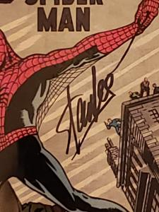 Amazing Fantasy 15 CGC - First Spider-Man Signed Stan Lee!
