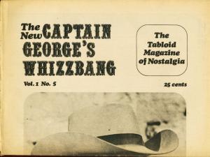 CAPTAIN GEORGES WHIZBANG #5-J. ALLEN ST. JOHN ART VG