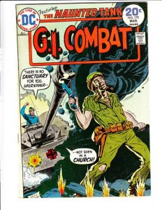 G.I. Combat #170 (Mar-74) VF High-Grade The Haunted Tank