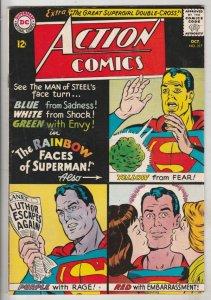 Action Comics #317 (Oct-64) VF+ High-Grade Superman