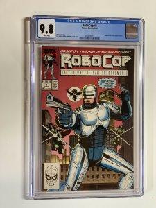 Robocop 1 Cgc 9.8 Wp Marvel