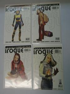 Rogue set #1-4 8.0 VF (2001 2nd Series)
