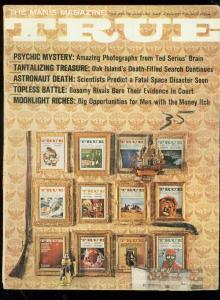 TRUE PULP MAG-JAN 1967-COVER GALLERY-I SPY-BILL WENZEL! VG