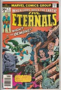 Eternals, The #4 (Oct-76) NM- High-Grade The Eternals, the Deviants