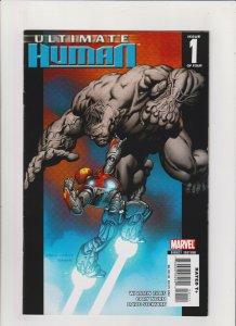 Ultimate Human #1 VF+ 8.5 Marvel Comics Hulk vs. Iron Man, Warren Ellis