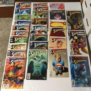 Superman 650-654 657 661 663 665-673 676 680 701 704-705 Vf Or Better Ik