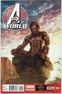 Avengers World #5 Jonathan Hickman NM