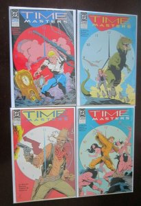 Time Masters comic set from #1 end #8 all 8 different books 6.0 FN (1990)