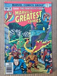Marvel Greatest Comics Staring Fabtastic Főúr #81