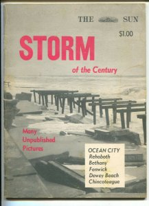 Storm Of The Century 3/1962-Baltimore Sun-photos of storm damage in Maryland-G/V