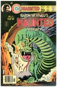 HAUNTED #32, FN/VF, Ancient Bones, Horror, 1971 1977, more Charlton in store