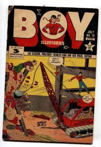 BOY COMICS #79 1952-CHARLES BIRO-Wrecking Ball cover