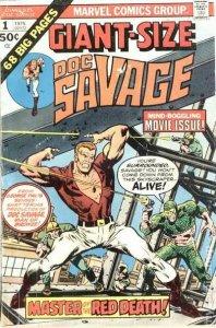1975 Doc Savage #1 Giant Size