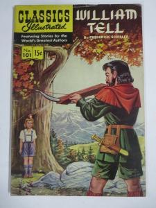 CLASSIC ILLUSTRATED #101 (VG-) WILLIAM TELL (1ST Edition, HRO=101) Nov 1952