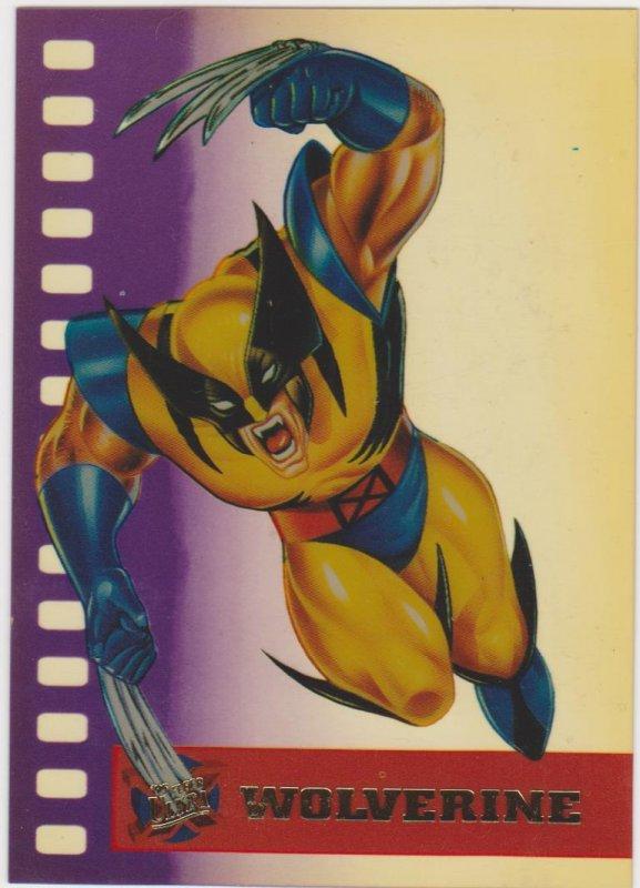 1995 Fleer Ultra X-Men Suspended Animation Wolverine #10