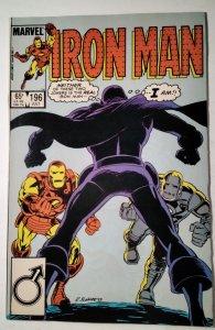Iron Man #196 (1985) Marvel Comic Book J757