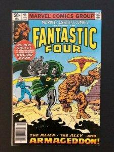 MARVEL FANTASTIC FOUR Vol 1 #96 Armageddon! 1981 VG/F (A185)
