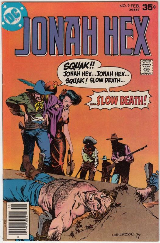 Jonah Hex #9 (Feb-78) NM/NM- High-Grade Jonah Hex