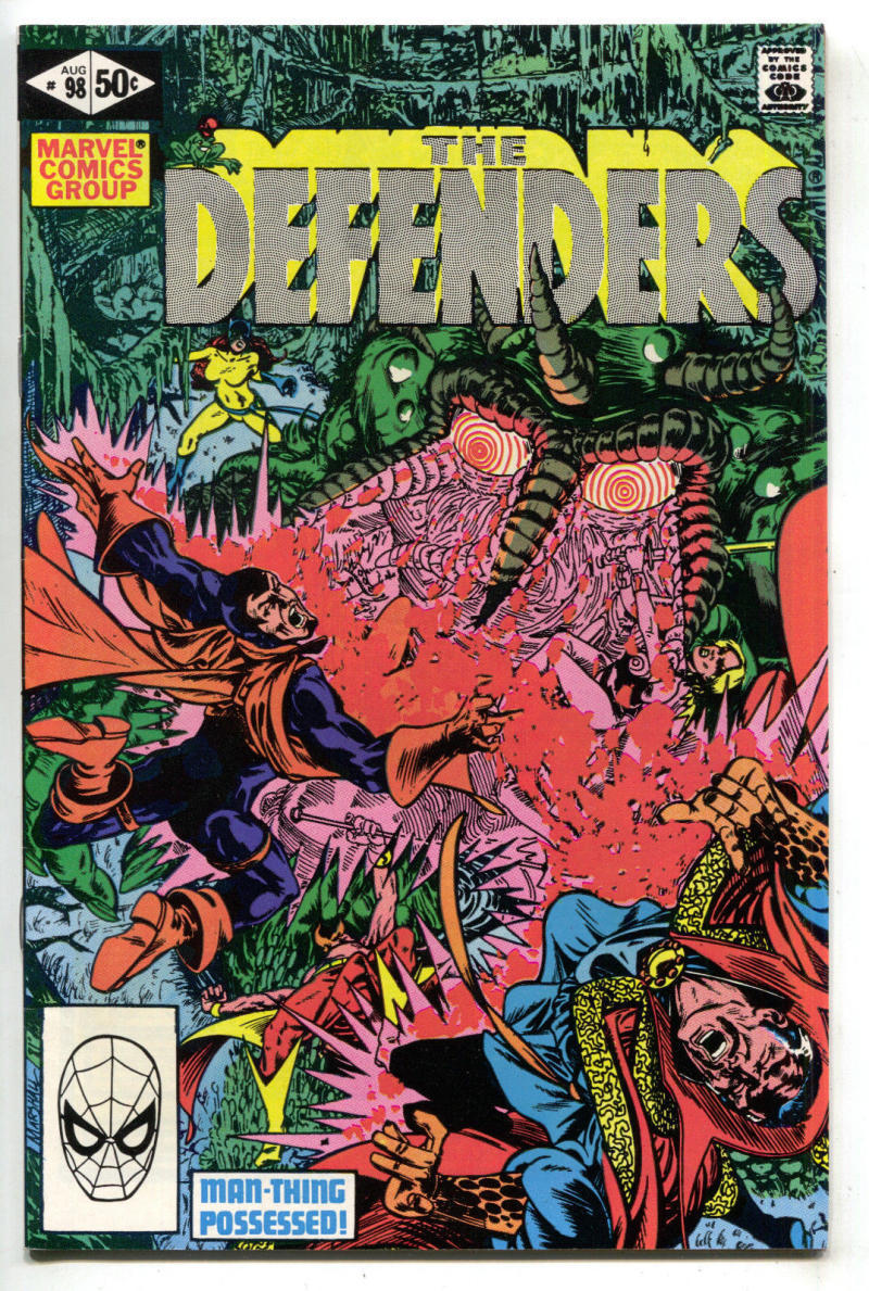 Master of Kung Fu Comic Book #98 Marvel Comics 1981 VERY FINE