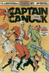 Captain Canuck #3 VG; CKR   low grade comic - save on shipping - details inside